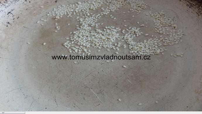 opražené sezamové semínko