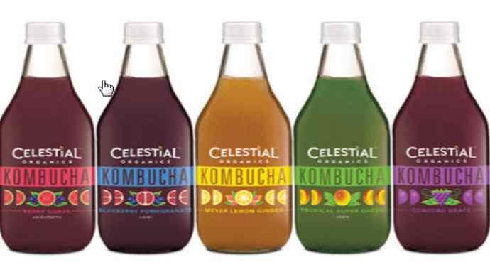 celestial organic kombucha