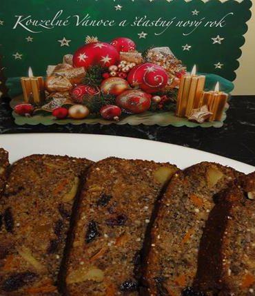 bezlepkový vánoční chlebíček