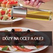 dozy na ocet a olej