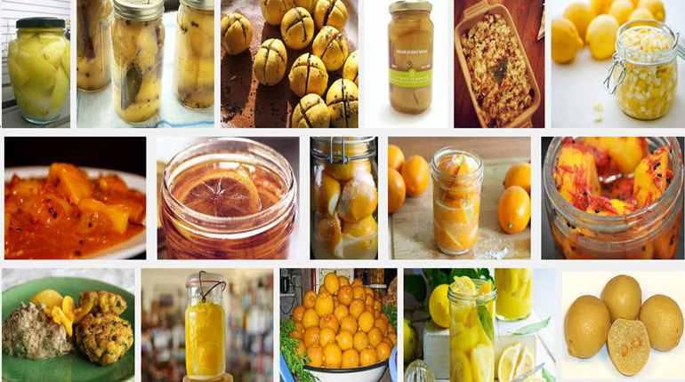 Marocké nakládané citrony